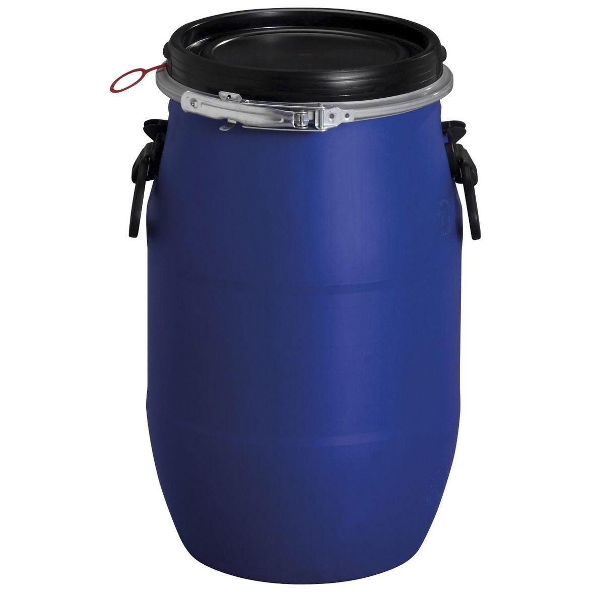 F t de mac ration a rien garantia cylindrique bleu 30 l for Canaletas de agua leroy merlin
