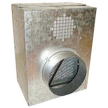 caisson de protection pour groupe d 39 air chaud dmo diam tre 150 mm leroy merlin. Black Bedroom Furniture Sets. Home Design Ideas