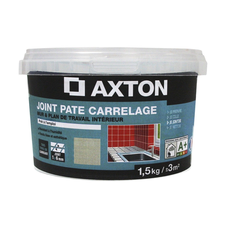 Joint en p te tout type de carrelage et mosa que axton - Joint carrelage leroy merlin ...