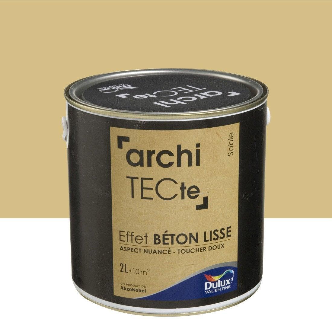 Peinture effet architecte effet b ton dulux valentine - Leroy merlin peinture effet metal ...