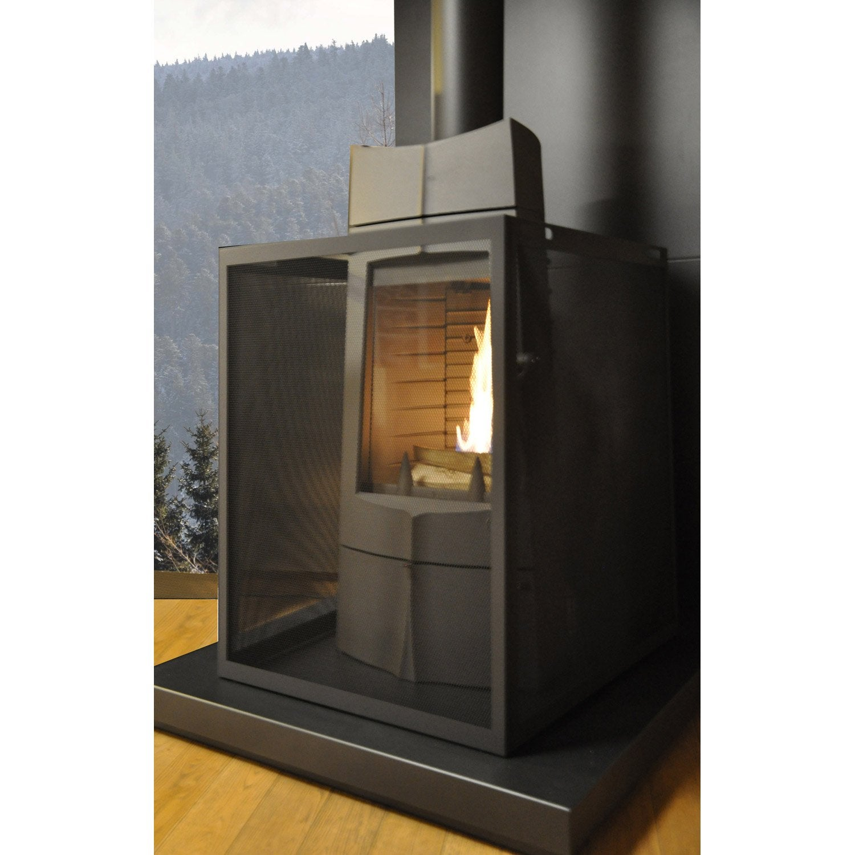 pare feu 3 volets equation d montable acier leroy merlin. Black Bedroom Furniture Sets. Home Design Ideas