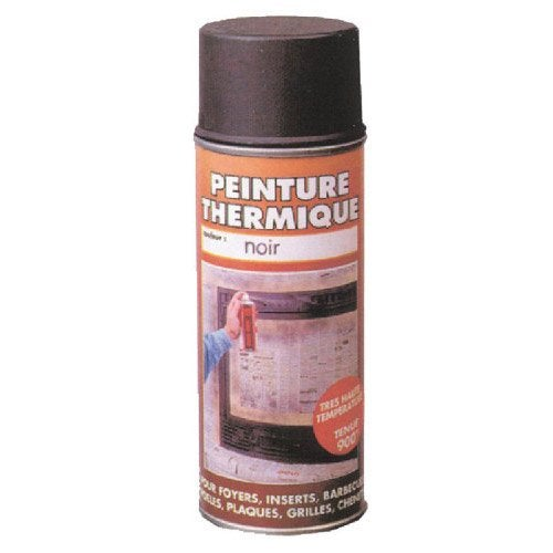 peinture thermique noir mat pyrofeu a rosol de 400 ml leroy merlin. Black Bedroom Furniture Sets. Home Design Ideas