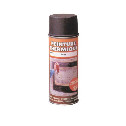 peinture thermique fonte pyrofeu a rosol de 400 ml leroy merlin. Black Bedroom Furniture Sets. Home Design Ideas