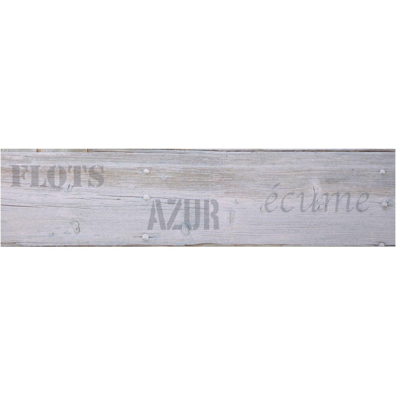 Frise vinyle adh sive planche longueur 5 m leroy merlin - Leroy merlin frise adhesive ...