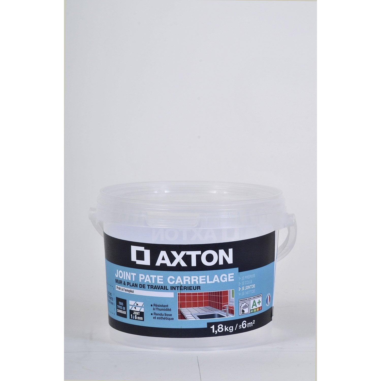 joint en p te tout type de carrelage et mosa que axton noir 1 8 kg leroy merlin. Black Bedroom Furniture Sets. Home Design Ideas