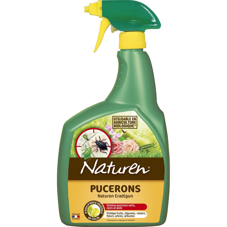 Traitement des insectes pucerons naturen 800 ml leroy for Anti puceron maison