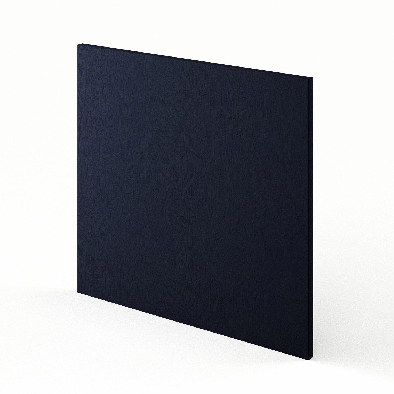 porte lave vaisselle de cuisine bleu fdsh60 topaze x cm leroy merlin. Black Bedroom Furniture Sets. Home Design Ideas