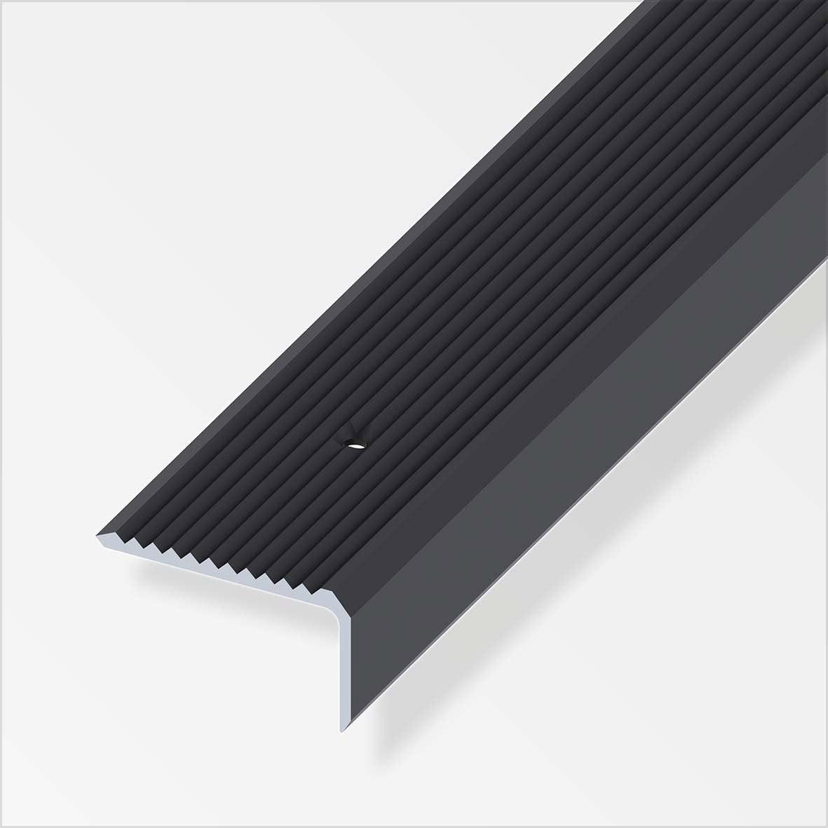 Nez de marche aluminium anodis l 1 m x l 4 1 cm x h 4 1 cm leroy merlin - Bloc marche leroy merlin ...
