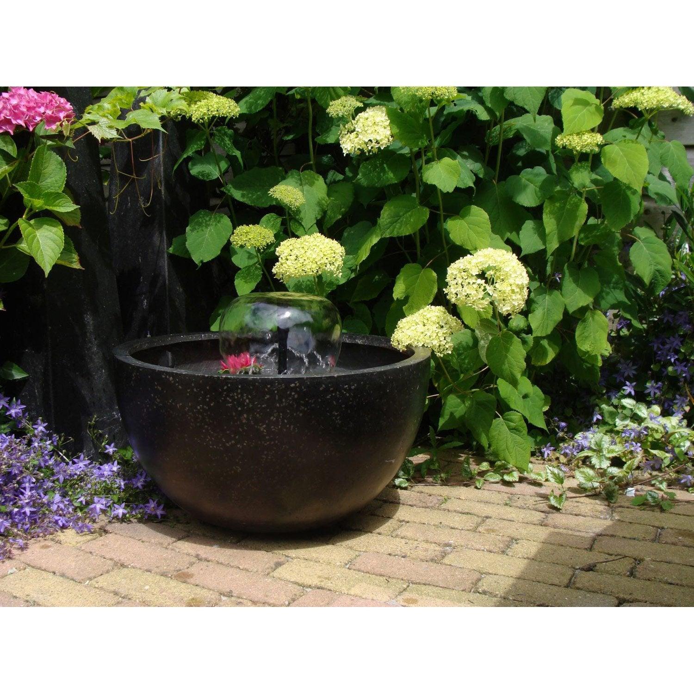 kit bassin ubbink terrasse 1 noir cm leroy merlin. Black Bedroom Furniture Sets. Home Design Ideas