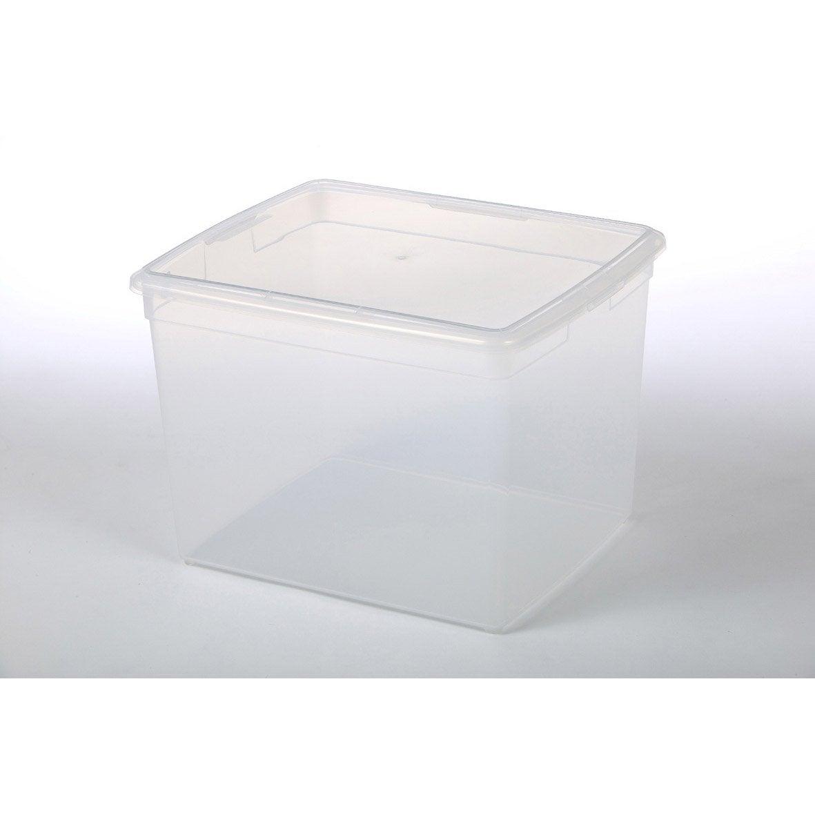 Bo te modular clear box plastique x x for Portillon plastique