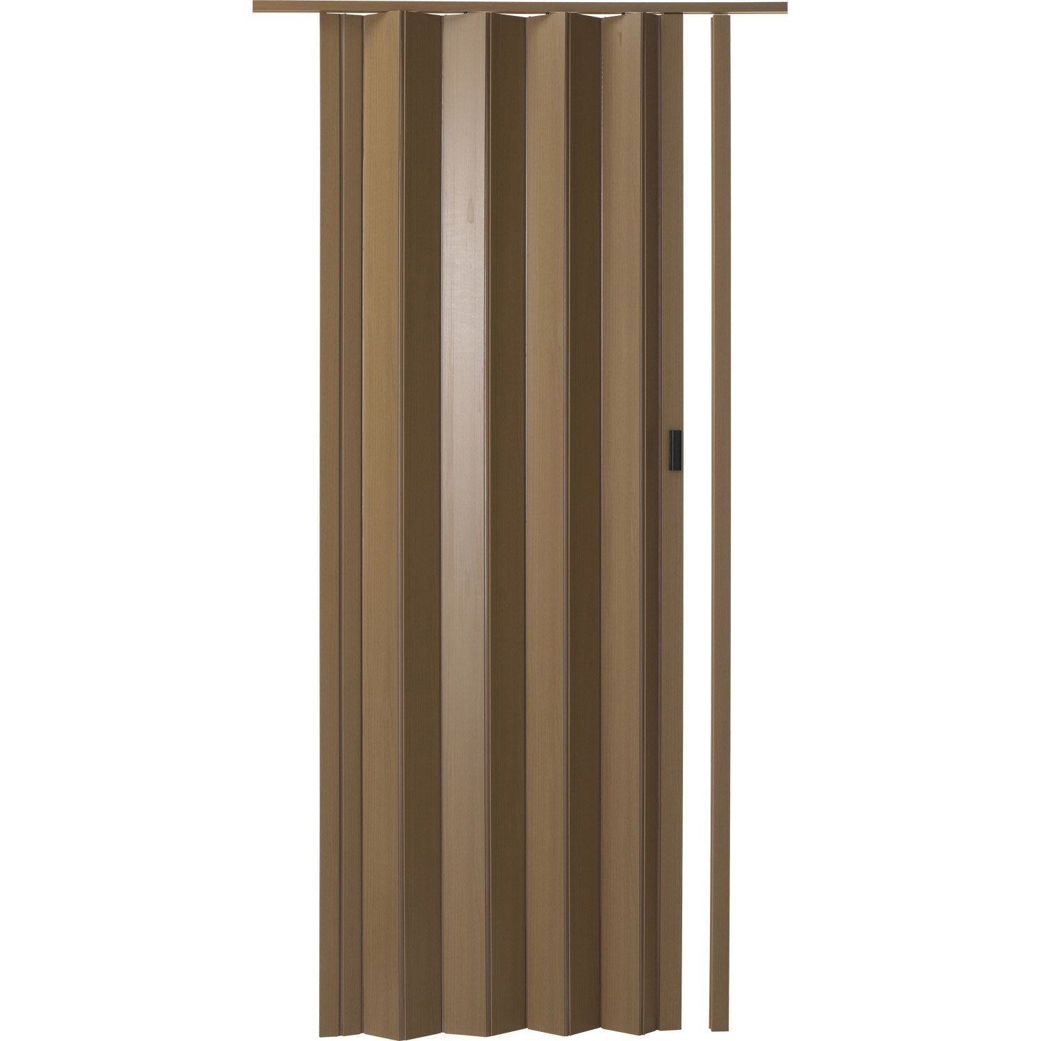 Porte extensible rio noyer 205 x 85 cm pais d 39 une lame 6 mm leroy - Portes accordeons leroy merlin ...