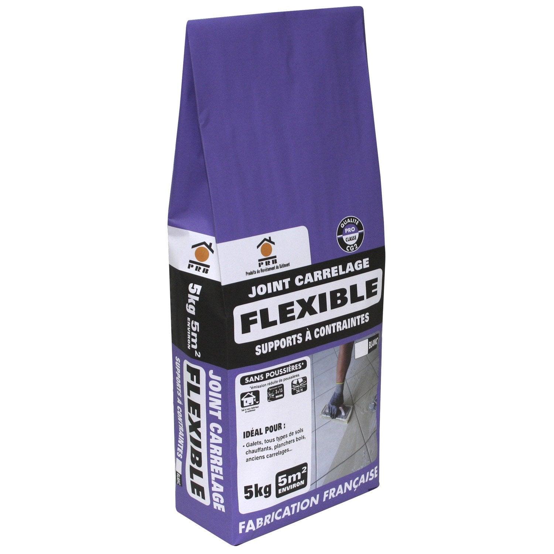 joint poudre tout type de carrelage et mosa que prb blanc 5 kg leroy merlin. Black Bedroom Furniture Sets. Home Design Ideas