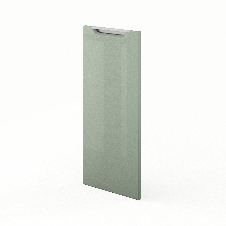 Porte de cuisine vert milano x cm leroy merlin for Porte 70 cm de large