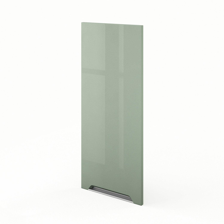 porte de cuisine vert f40 92 milano l40 x h92 cm leroy On panneaux acrylique leroy merlin
