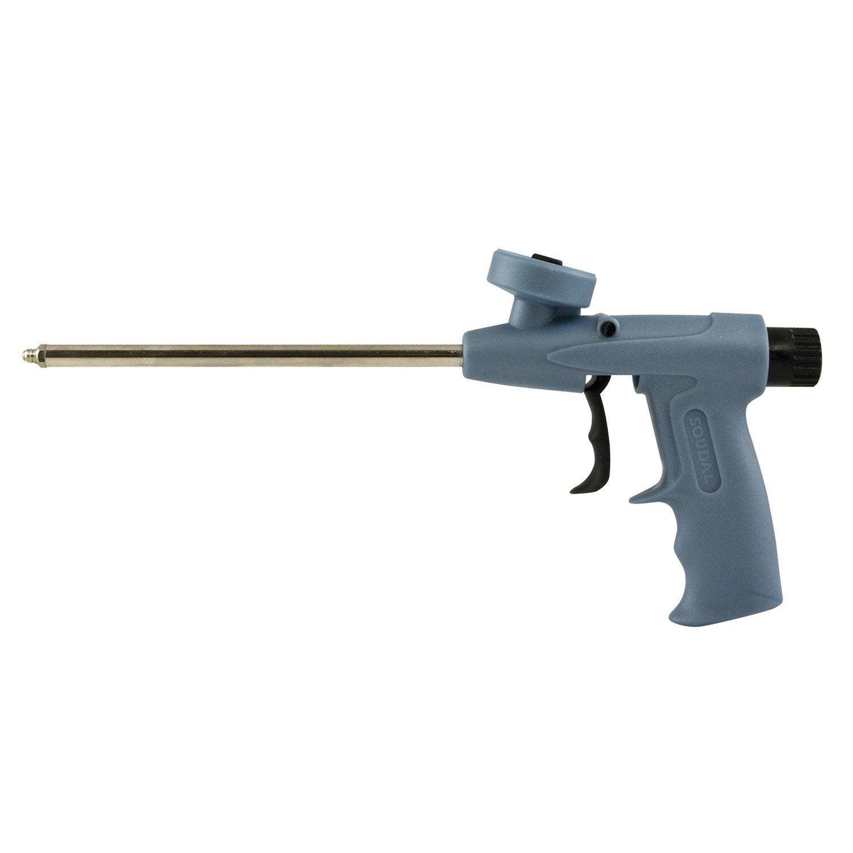 pistolet pour mousse expansive foam gum soudal x l. Black Bedroom Furniture Sets. Home Design Ideas
