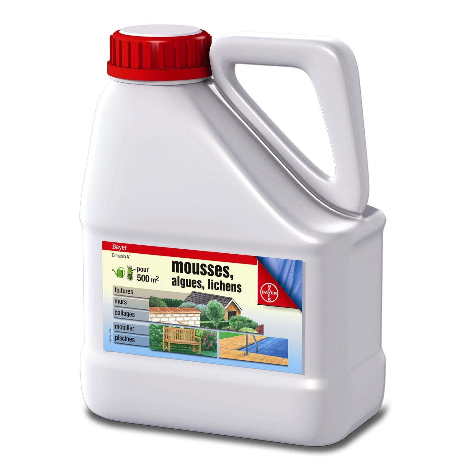 Antimousse s lectif bayer 2 5 l leroy merlin - Anti mousse toiture leroy merlin ...