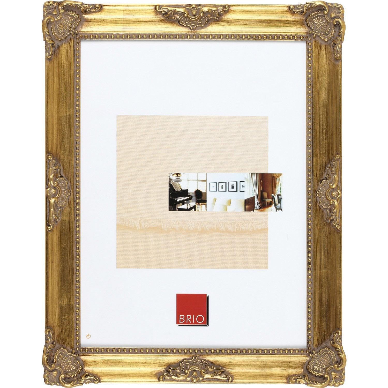 Cadre Opéra, 13 x 19 cm, dorée  Leroy Merlin