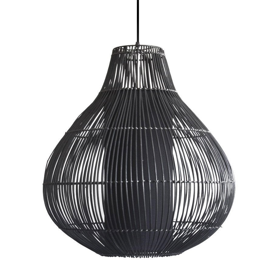 Suspension oriental izmir m tal noir 1 x 40 w seynave leroy merlin - Suspension new york leroy merlin ...