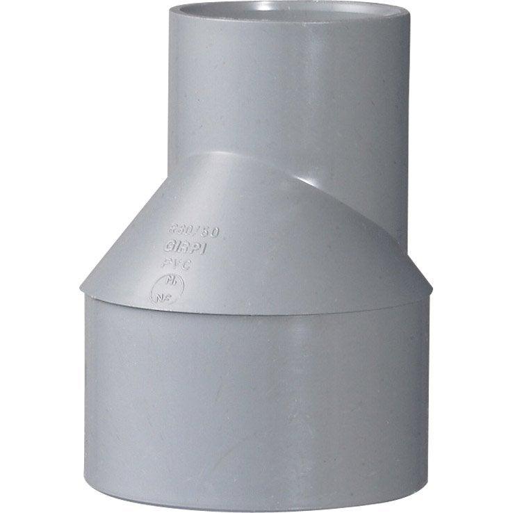 R Duction Excentr E Pvc M Le Femelle Diam 80 50 Mm Girpi Leroy Merlin