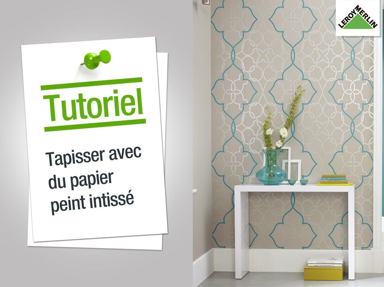 papier a peindre papierpeint9 comment mettre du papier peint