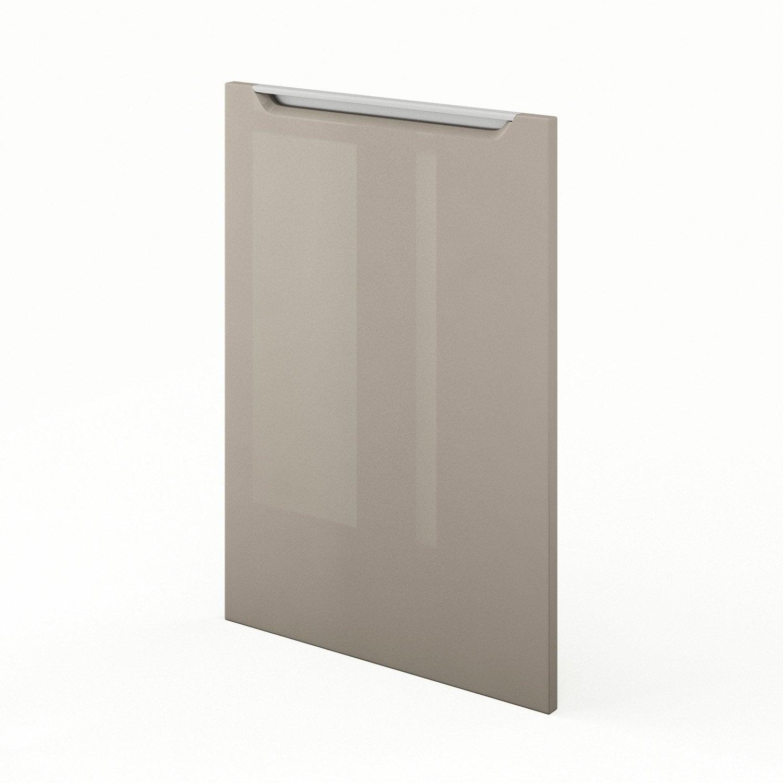 Porte de cuisine taupe f50 milano l50 x h70 cm leroy merlin - Leroy merlin porte de cuisine ...