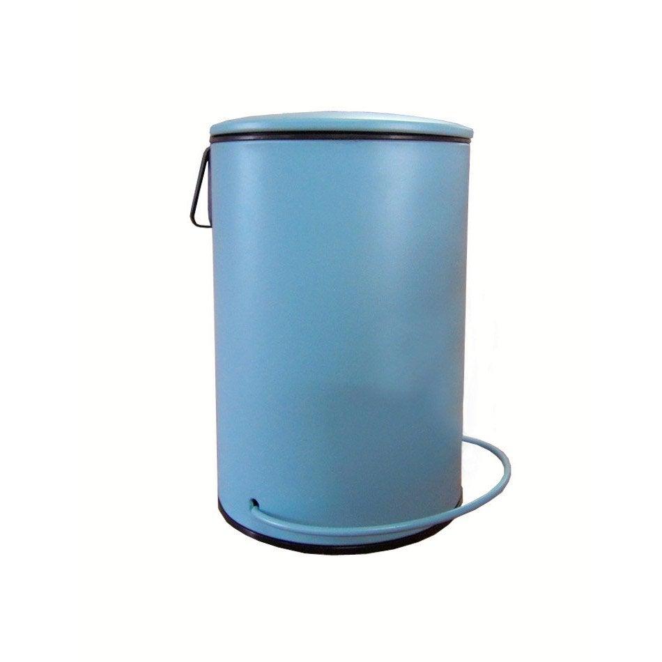 Poubelle de salle de bains 3 l bleu baltique n°3 SENSEA