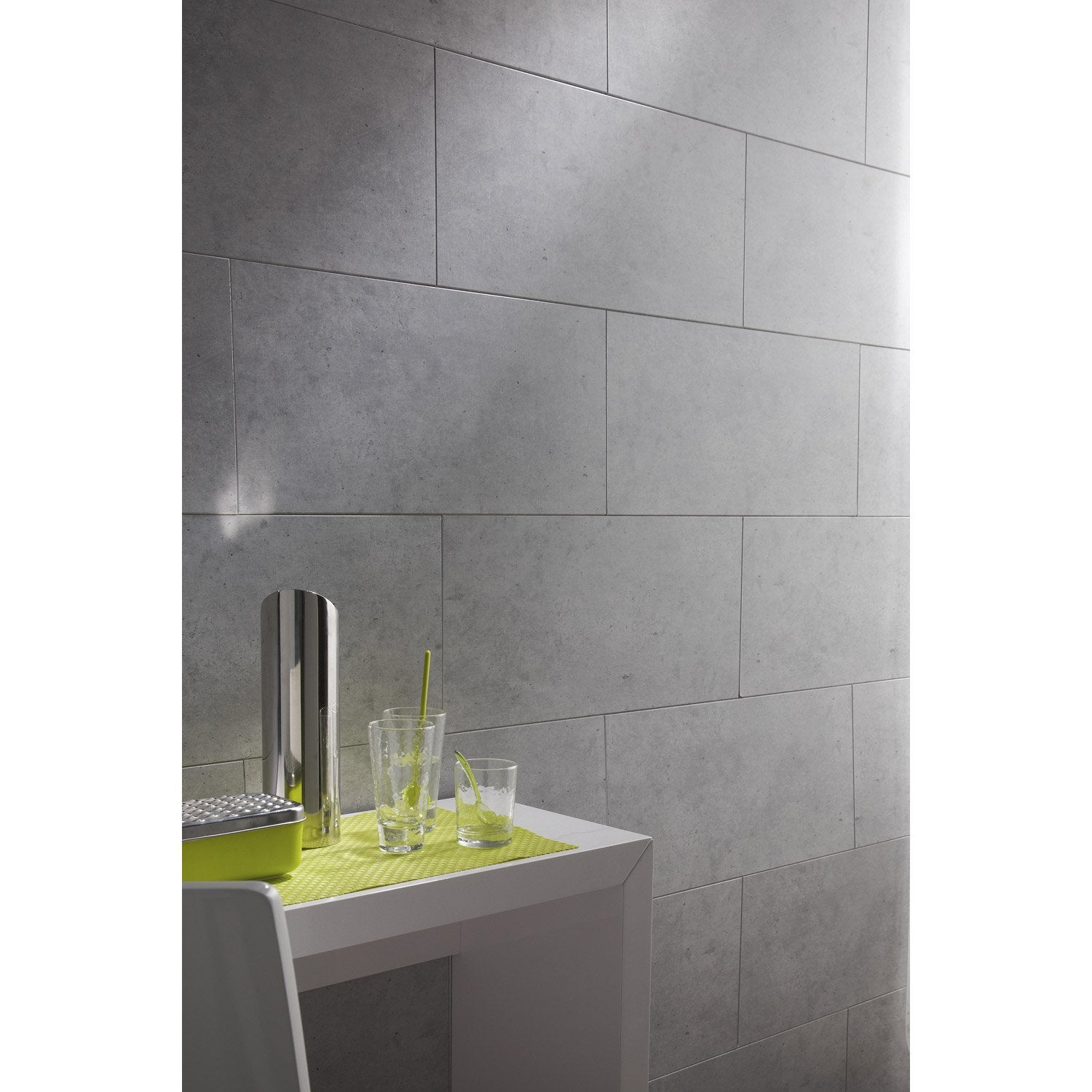 Lambris pvc imitation carrelage maison design for Lambris pvc mural salle de bain