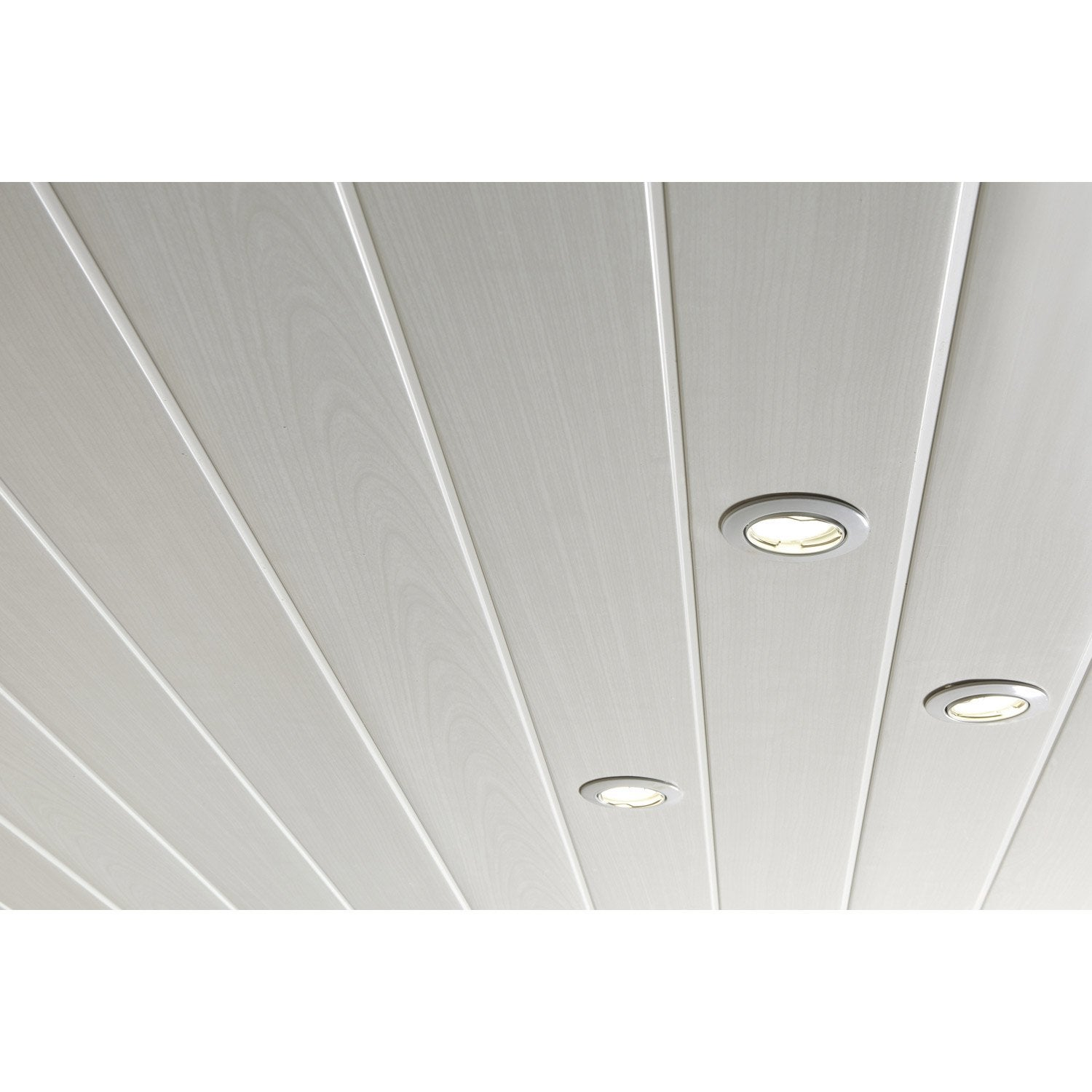 Pose de lambris pvc en plafond tours prix travaux for Pose lambri pvc plafond