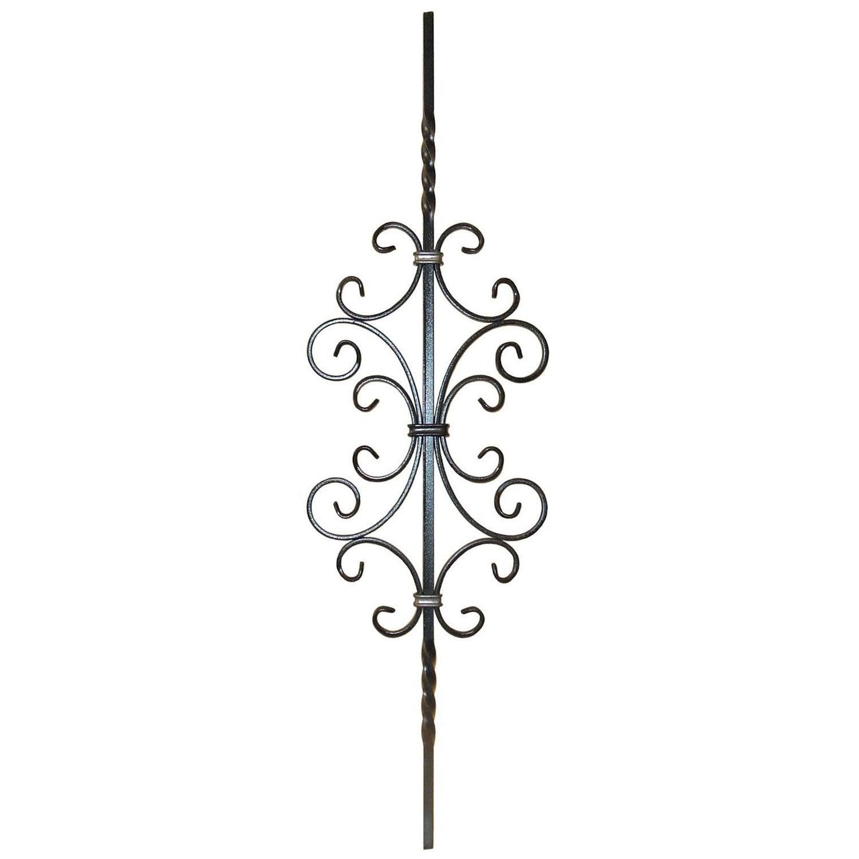 barreau souder fer forg 90 x 26 5 cm leroy merlin. Black Bedroom Furniture Sets. Home Design Ideas