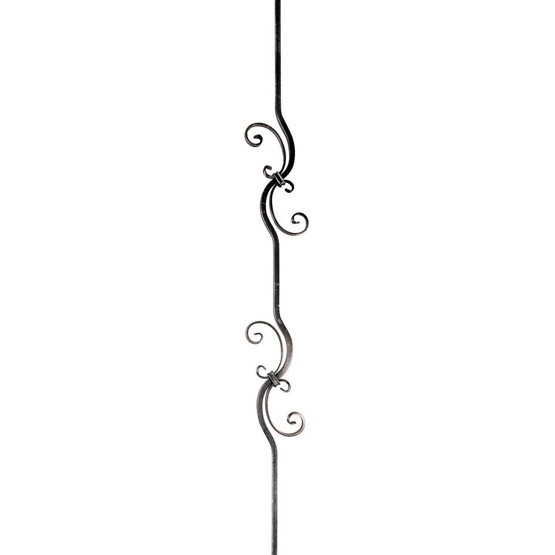 barreau souder fer forg 90 x 17 cm leroy merlin. Black Bedroom Furniture Sets. Home Design Ideas