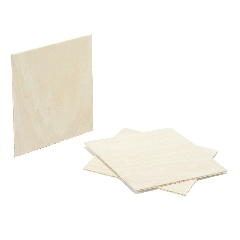 Pr d coup contreplaqu peuplier ep 5 mm x cm for Planche bois gris