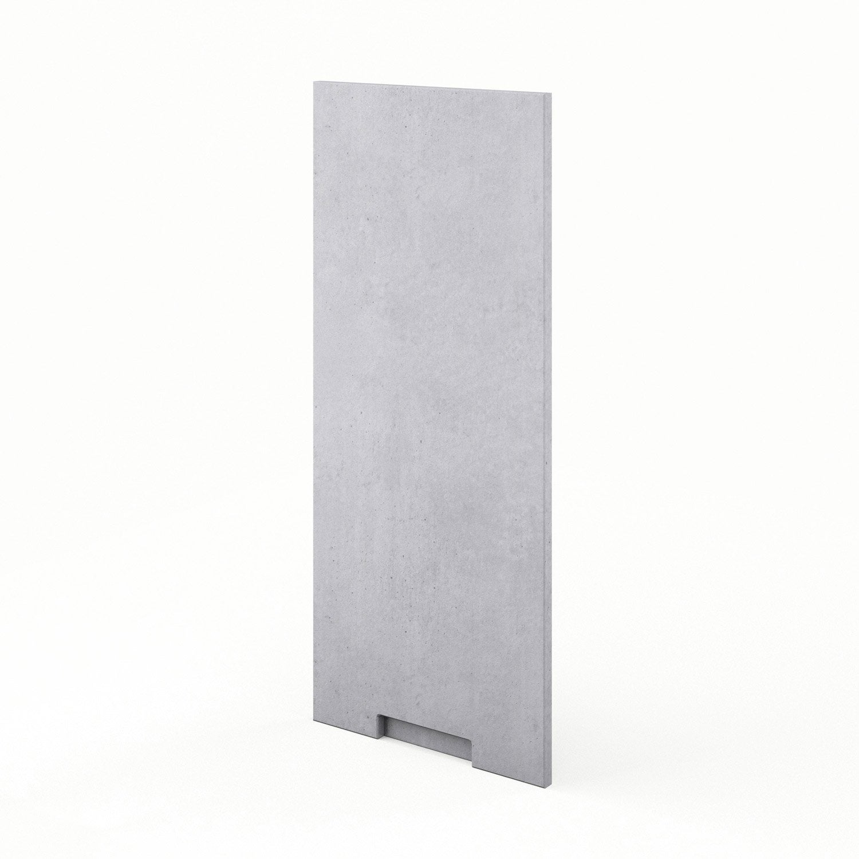 porte de cuisine d cor b ton f40 92 berlin x cm. Black Bedroom Furniture Sets. Home Design Ideas