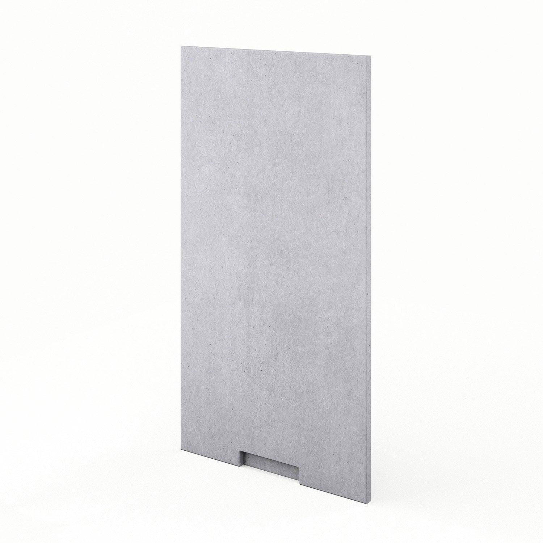 porte de cuisine d cor b ton berlin x cm. Black Bedroom Furniture Sets. Home Design Ideas