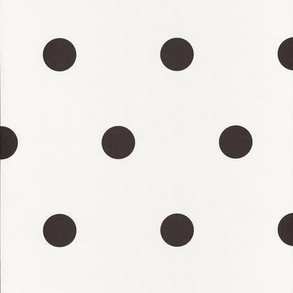 papier peint pois noir iris intiss shades leroy merlin. Black Bedroom Furniture Sets. Home Design Ideas