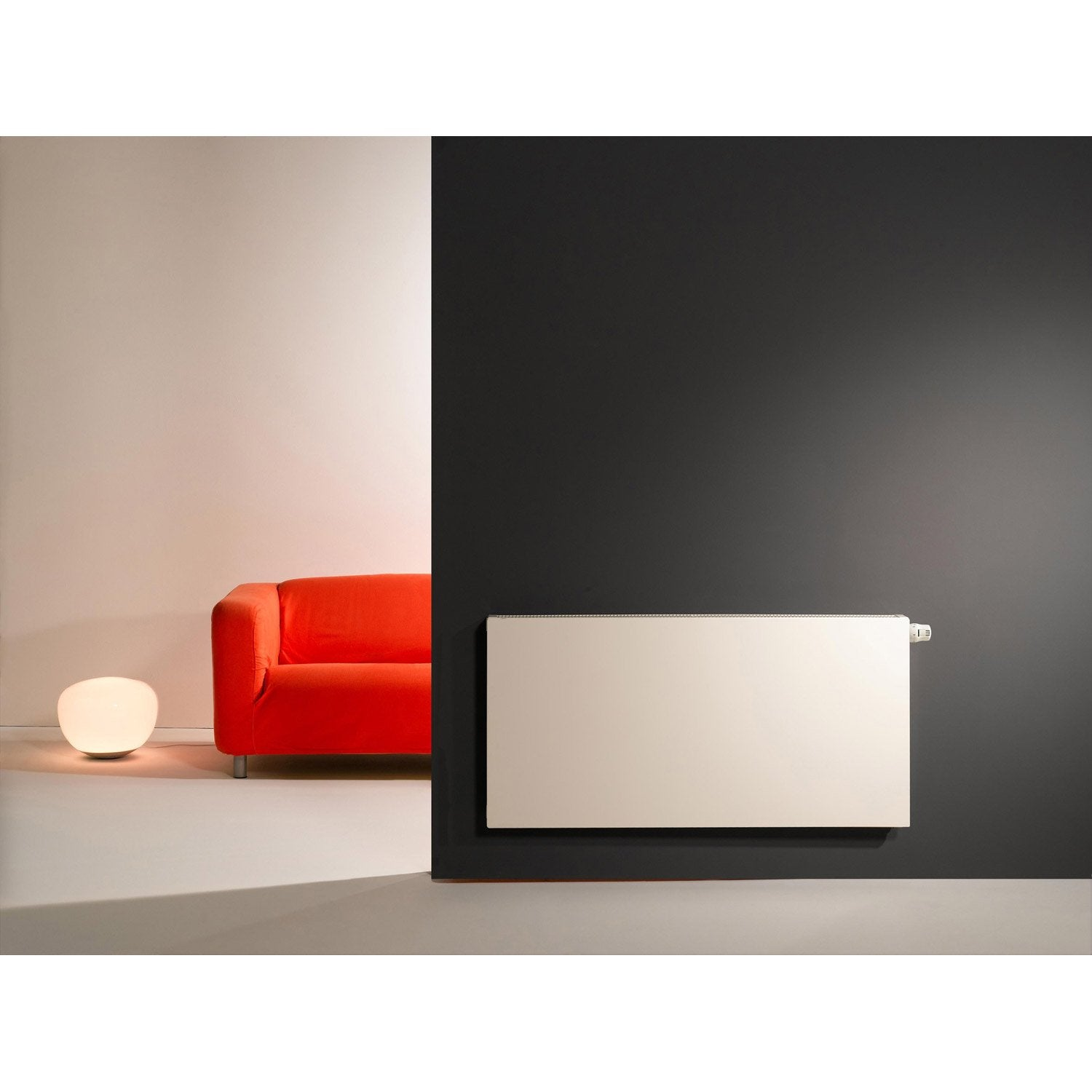 radiateur chauffage central colima blanc cm 1521 w leroy merlin. Black Bedroom Furniture Sets. Home Design Ideas