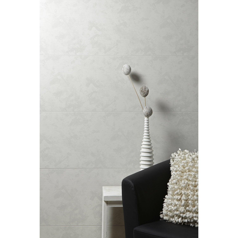 Plan Chambre Avec Suite Parentale : Lambris PVC gris essuyé ARTENS L260 x l375 cm x Ep8 mm