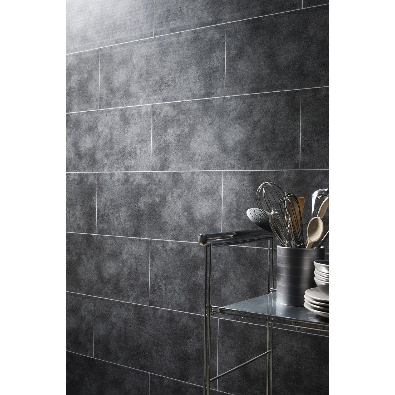 Panneau pour salle de bain imitation carrelage salle de - Lambris pvc imitation carrelage ...