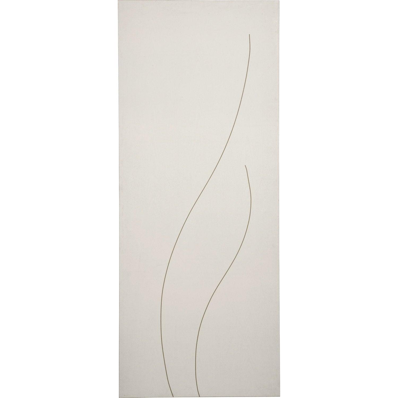 Porte coulissante grav e peindre swing 204 x 83 cm for Porte a peindre