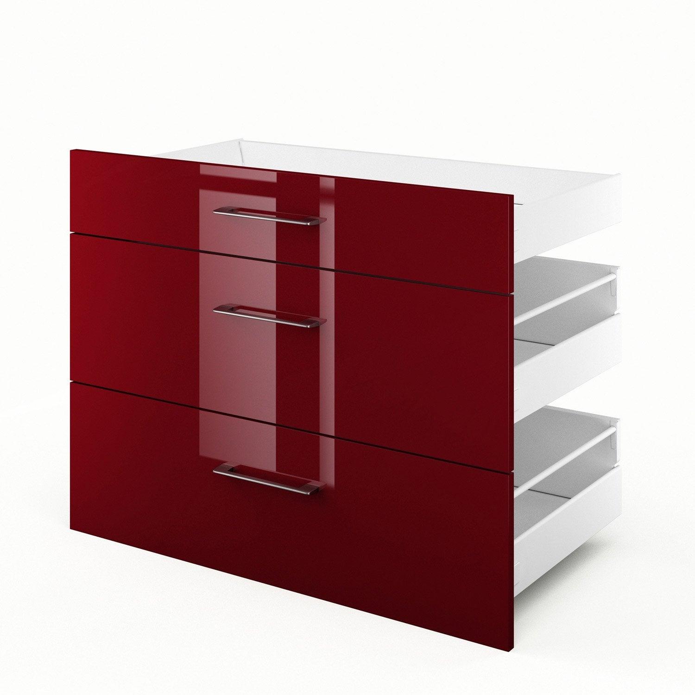 cuisine rouge griotte avec des id es int ressantes pour la conception de la chambre. Black Bedroom Furniture Sets. Home Design Ideas