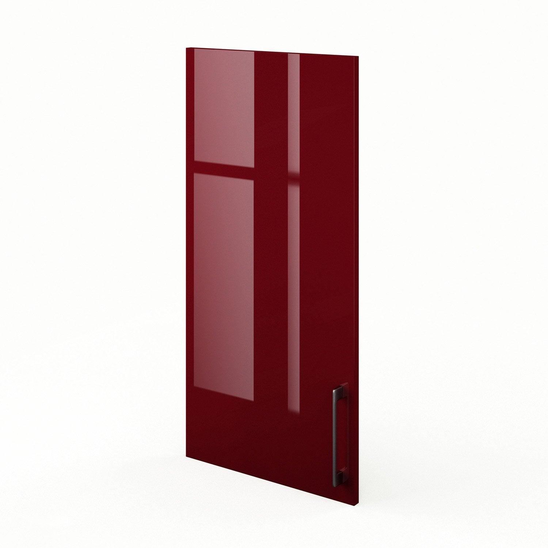 porte de cuisine rouge f45 92 griotte l45 x h92 cm. Black Bedroom Furniture Sets. Home Design Ideas
