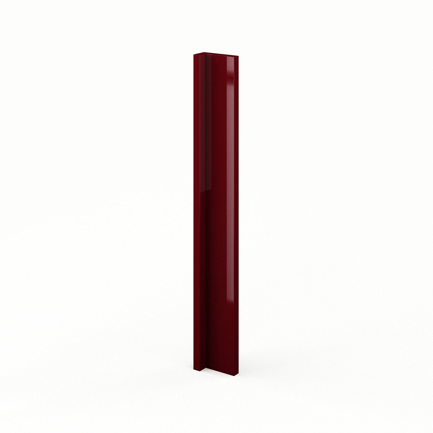 Renovation Salle De Bain Lyon : Finition dangle de cuisine rouge ABAng Griotte, L15 X H70 cm  Leroy