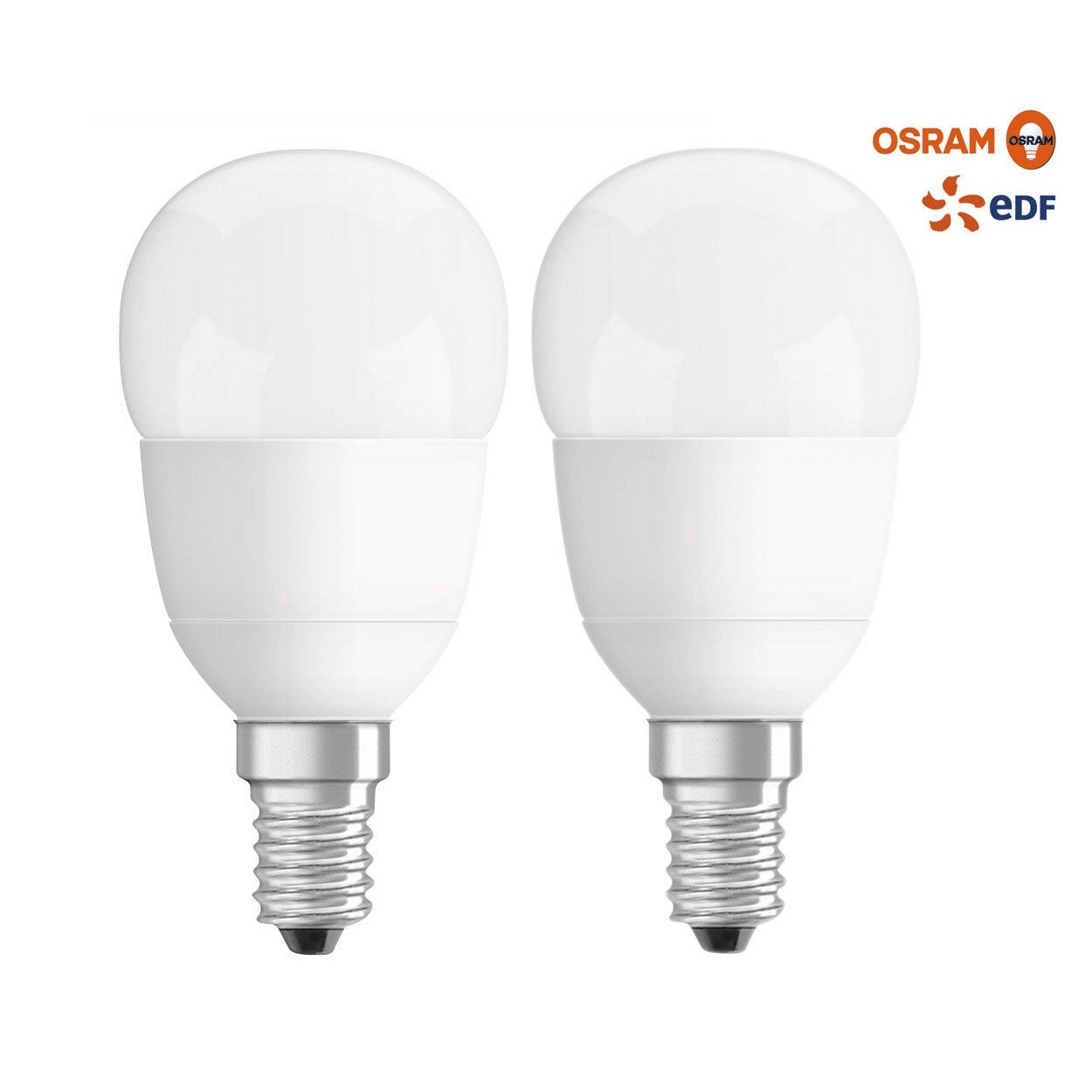 ampoule sph rique led 40w osram e14 lumi re chaude env 2700k leroy merlin. Black Bedroom Furniture Sets. Home Design Ideas