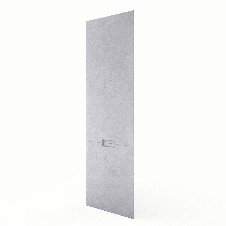 Porte colonne de cuisine d cor b ton berlin x for Porte 60 x 180