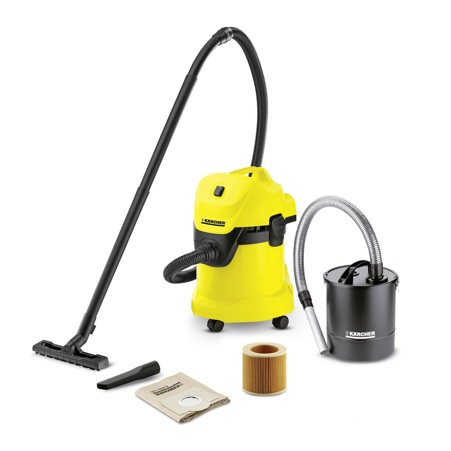 aspirateur industriel eau et poussi res karcher wd3 fireplace kit 21 kpa 17 l leroy merlin. Black Bedroom Furniture Sets. Home Design Ideas