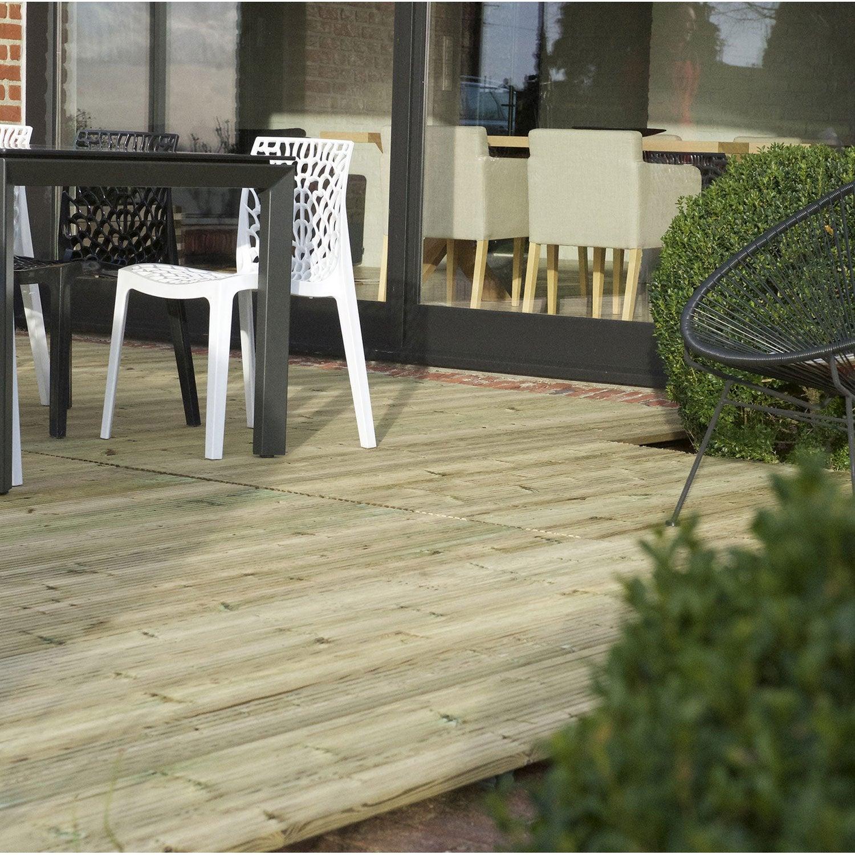 terrasse bois pas cher avec leroy merlin brico depot. Black Bedroom Furniture Sets. Home Design Ideas