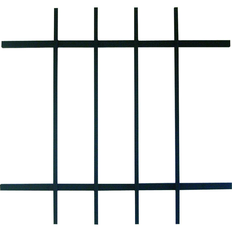 Grille de défense pour fenêtre, série Eco, Haut 65 x larg 70 cm