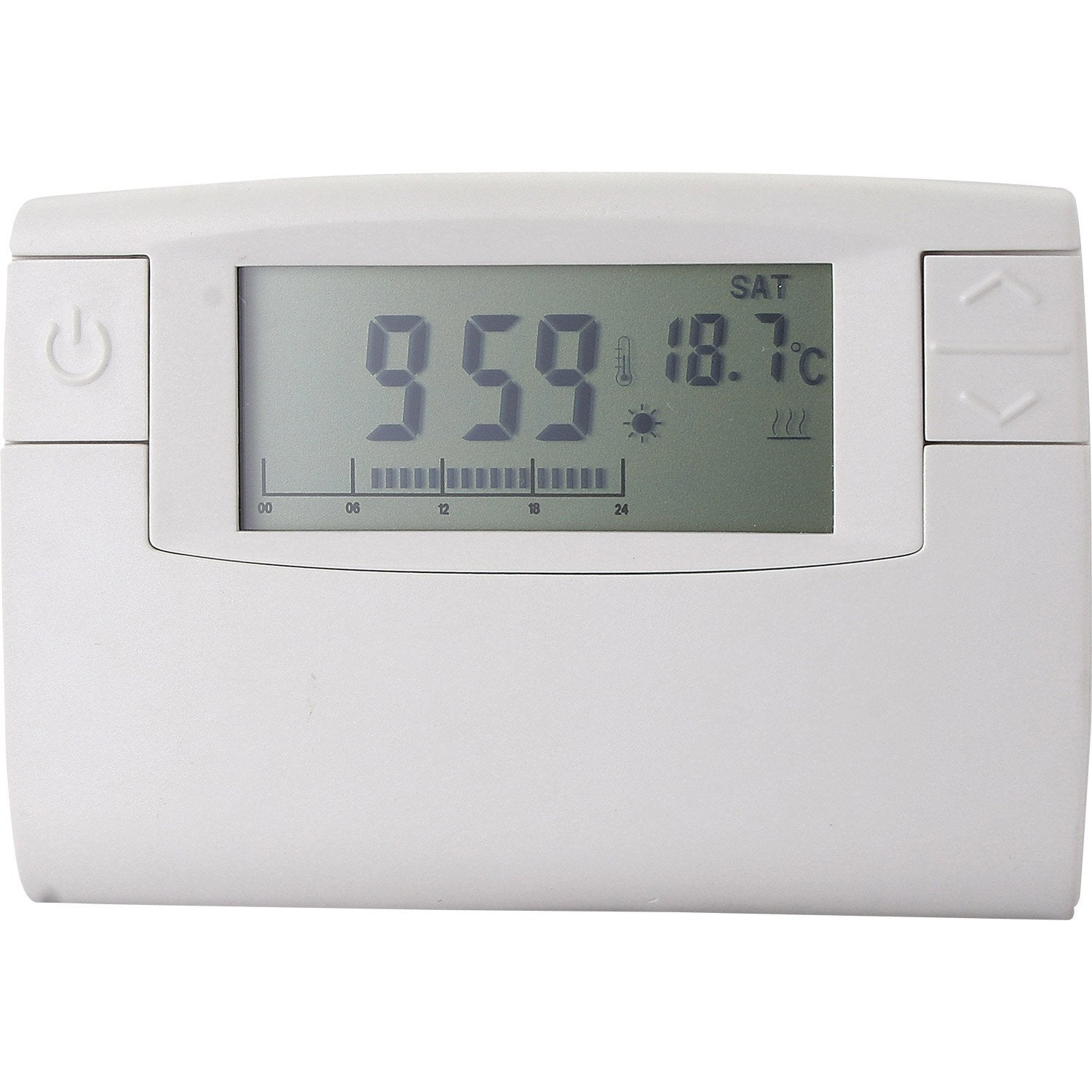 Thermostat programmable filaire celcia crono 911 leroy for Thermostat piscine