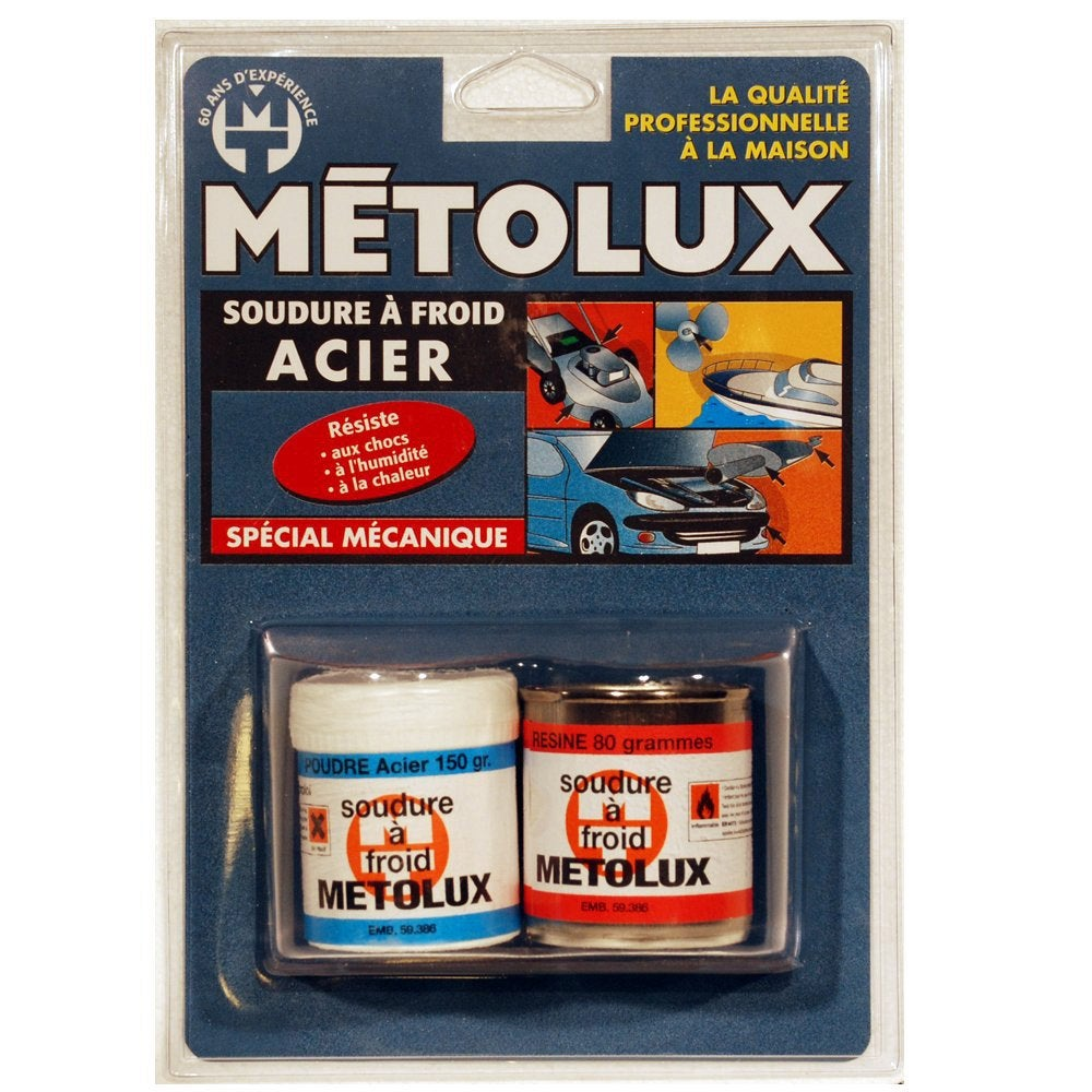 Soudure froid sp cial m canique metolux leroy merlin - Colle epoxy leroy merlin ...