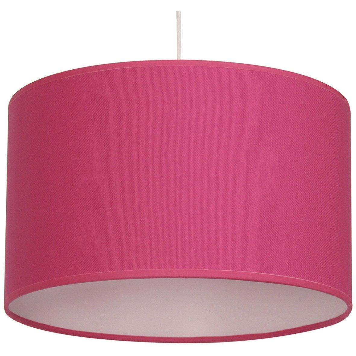 suspension natt coton rose shocking n 3 1 x 60 w inspire leroy merlin. Black Bedroom Furniture Sets. Home Design Ideas