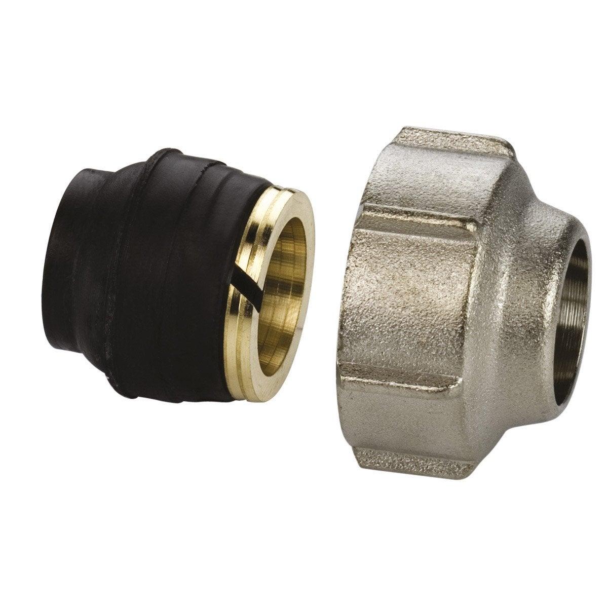 Radiateur eau 6 connexions - Radiateur avec robinet thermostatique ...